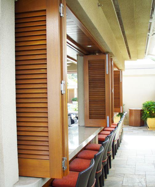 exterior folding door