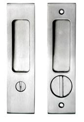 Superior Stainless Steel Pocket Door Privacy Lock