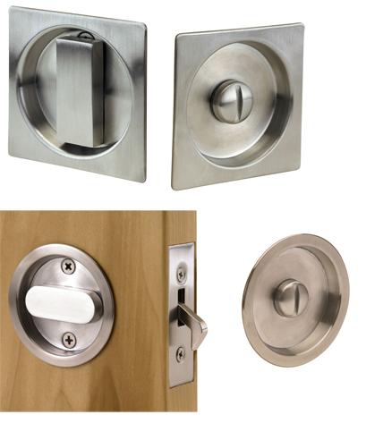 Pocket Door Privacy Locks