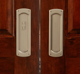 baldwin boulder palo alto and santa monica large and small available in up to 20 finishes and four styles pocket door lock for every design aesthetic