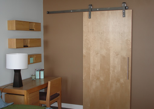 barn door hardware : barn door track - pezcame.com