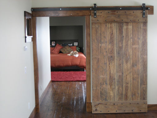 barn door hardware kits from designer finishes custom. Black Bedroom Furniture Sets. Home Design Ideas