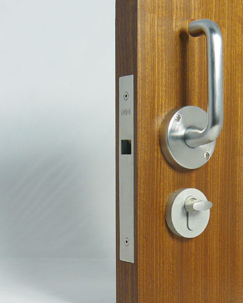 CL 100 Locking Pocket Door With Lever Trim And ADA Interior Option
