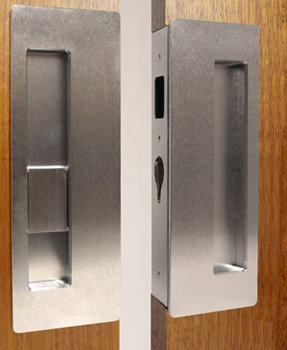 Superieur ... Privacy And Matching Strike Passage Lock For Double Door Applications