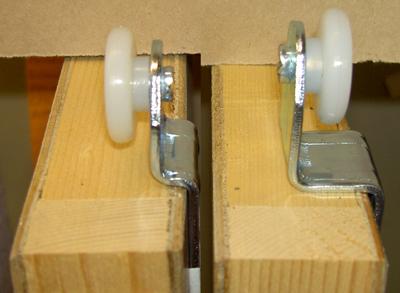 Decorating sliding closet door bottom track : closet door tracks and rollers | Winda 7 Furniture