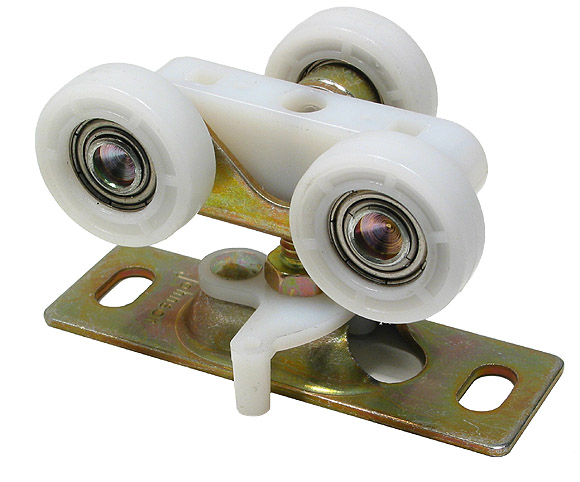 Pchenderson Industrial Door Galvanized Track And Rollers For Doors Up To 4400 Lbs