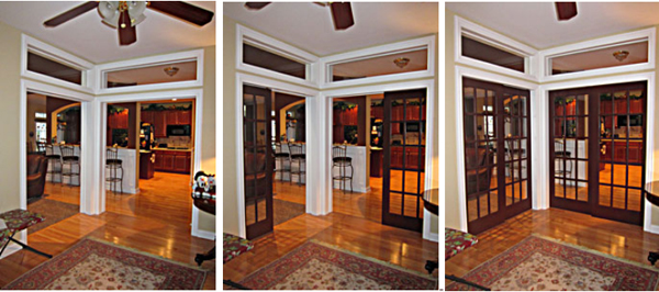 Pocket Door Rollers >> double pocket door kits 2 door in a line