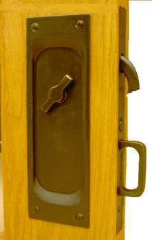 Brass Pocket Door Handle