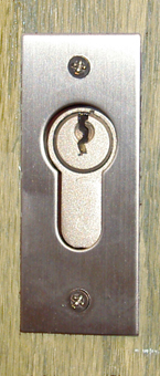 Keyed Pocket Door Lock From Lockshowroom Com
