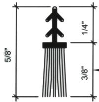 Brush Weatherstrip For Sliding Doors