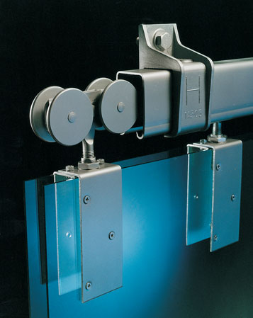 Charmant Galvanized Steel Track And Heavy Duty Rollers For Barn Doors And Garages