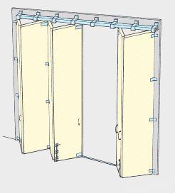Bi Folding Door Kits For Johnson Pchenderson And Kristrack