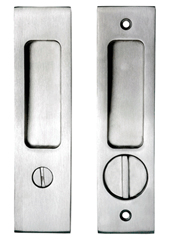Awesome Stainless Steel Pocket Door Privacy Lock