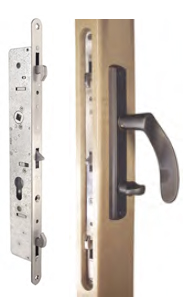 sc 1 st  Barn Door Hardware from Hanging door hardware.com & Keyed Pocket Door Locks - Cavity Locks from Lockwood